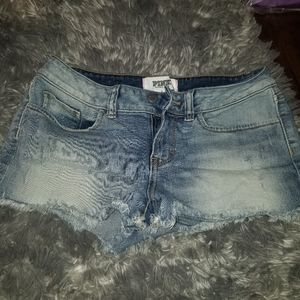 Pink Victoria's secret shorts size 2